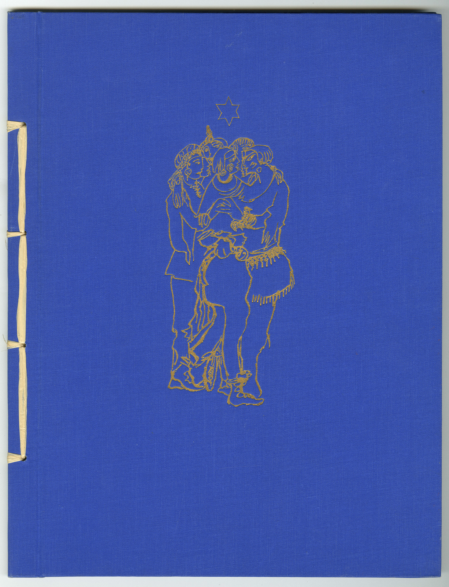 »The Bond of Wild Jews« from Thebes. Poems and Lithographs (cover)