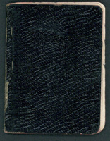 Notebook 1937 (cover)